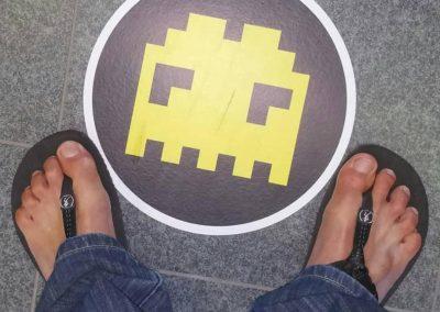 Emilio Soro con Hommo Sandals