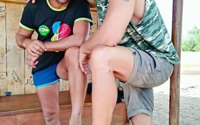 Los modelos Hommo Sandals 2017 (Foroatletismo y Rodrigo Morath)