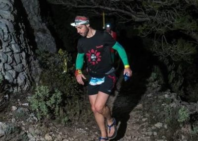 Alex  Cano en Ultra Traill Lastres