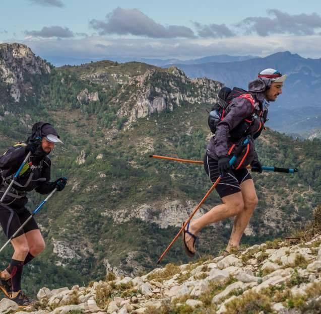 Ultra Traill Llastres con Hommo Sandals Eiger      (Crónica por Alex Cano)